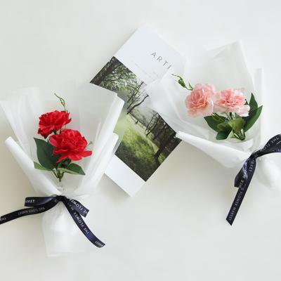 실크플라워 카네이션꽃다발 [2color]