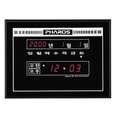 공간 인테리어 디지털 전자 벽시계 MUH-18F CH1560597