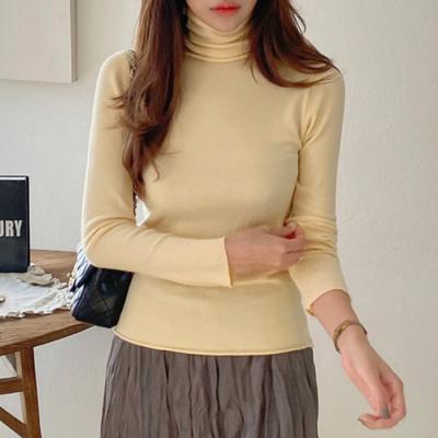 Cotton Turtleneck Knit