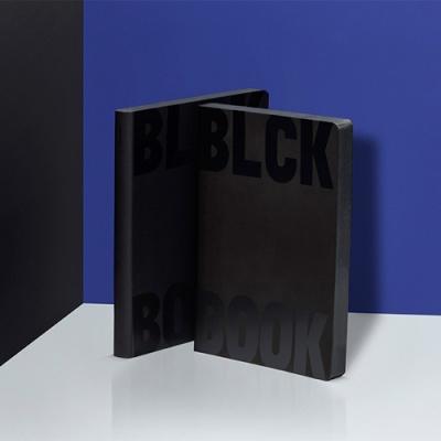 그래픽 노트 라지 - BLACK BOOK
