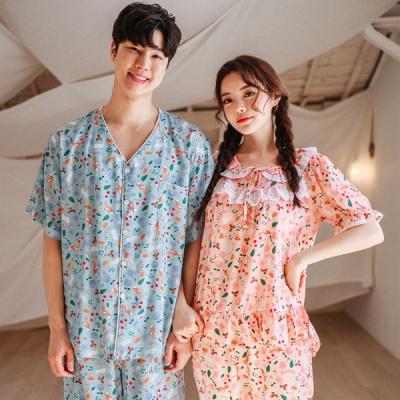 [쿠비카]스토리베리 레이스 투피스 커플잠옷 WM145
