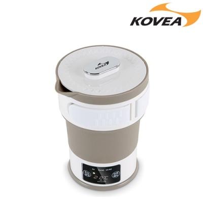 코베아 접이식 전기포트 KEFW9EK-01 여행 캠핑 휴대