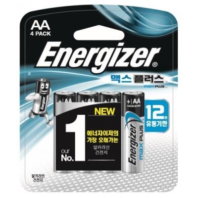 [에너자이저] 에너자이저 맥스플러스 AA4P [판/1] 375545