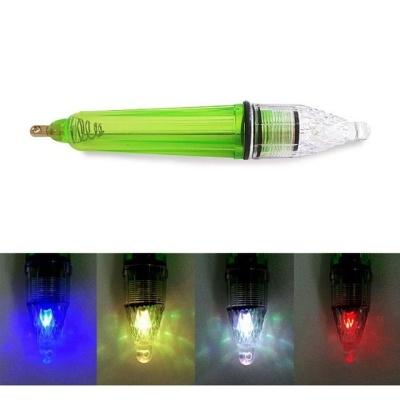 LED 집어등 그린대형17cm 4색 밝은빛 2중 실리콘링
