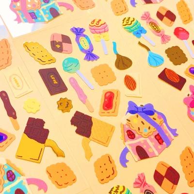 반짝반짝 Sweets 칼선 스티커