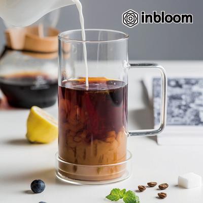 인블룸 대용량 모던 아이스 강화유리 머그컵
