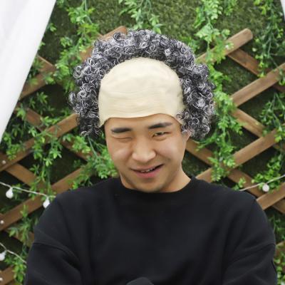 파마 대머리 가발