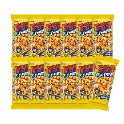꿀땅콩 듬뿍 카라멜콘 44g x 12봉