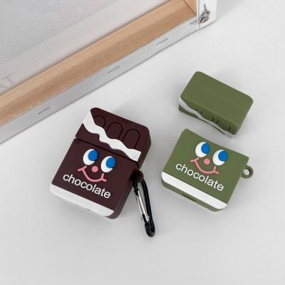 에어팟케이스 귀여운 키링 실리콘 초콜릿 ap-0105