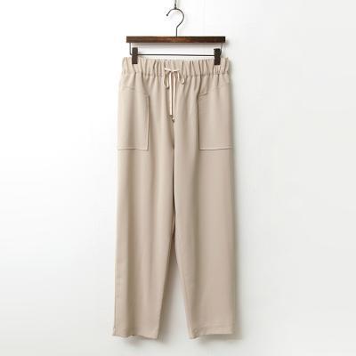 Pocket Semi Baggy Pants