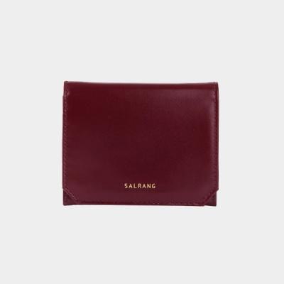 Reims M301 Folder Wallet burgundy 폴더 월렛 버건디