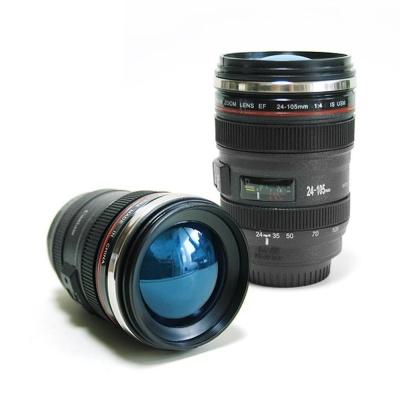 대포 카메라 컬러 렌즈 디자인 유니크 스텐 텀블러