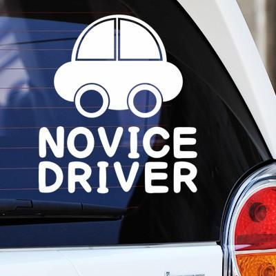 NOVICE DRIVER - 초보운전스티커(412)