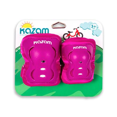 [카잠] 유아 자전거 보호대 무릎 팔꿈치 보호대 핑크