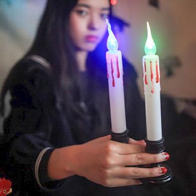 LED 할로윈 촛불세트 (2개입)