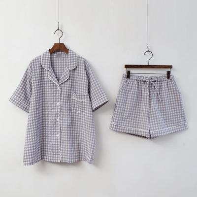 Milo Check Pajama Set