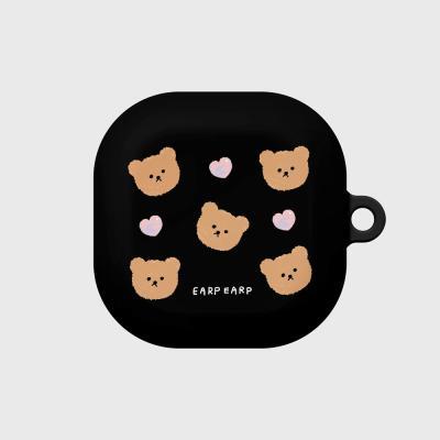 Dot love and bear-black(buds live hard)