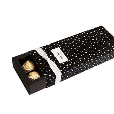 블랙 폴라도트 12구 상자(2set)