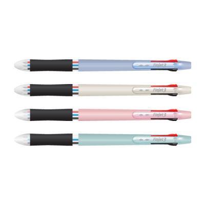 1500 플로젯 3색 볼펜 0.38