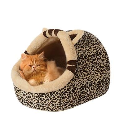 펫디아 레오파드 고양이 하우스