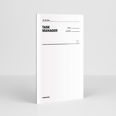 [오리지널] 태스크 매니저 31DAYS - 화이트 모트모트