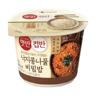 [CJ제일제당] 한끼 식사 낙지콩나물비빔밥 216gx3개