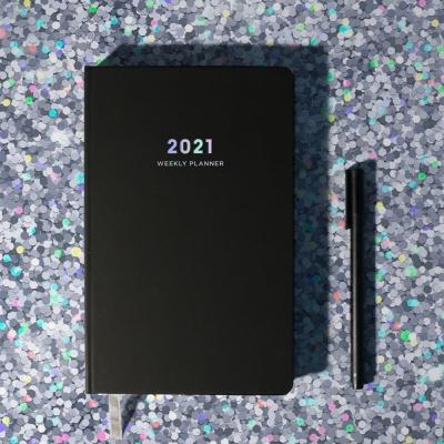 2021 양장다이어리-Black(블랙)