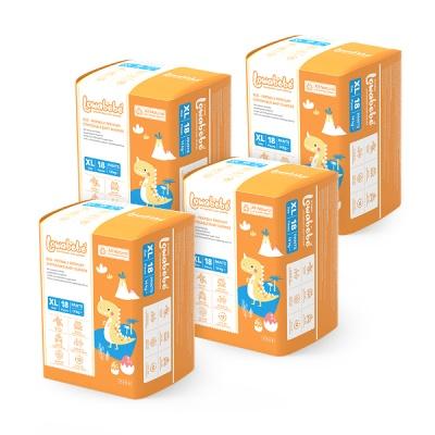 [로와베베] 팬티형기저귀 4단계(XL 14kg~) 4팩