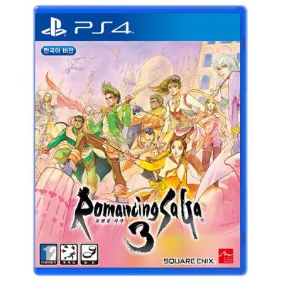 PS4 로맨싱 사가 3 한글판