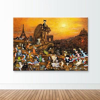 1000조각 직소퍼즐▶ 파리의 고양이들 (HE29750)