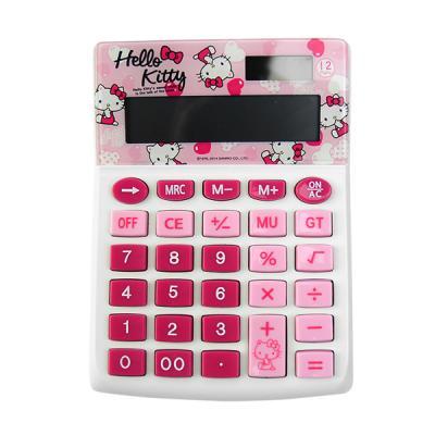 헬로키티 핑크 하트 계산기
