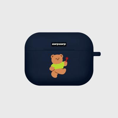 Dancing bear-navy(Air pods pro)
