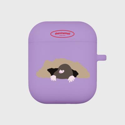 두더징 에어팟 케이스[purple]