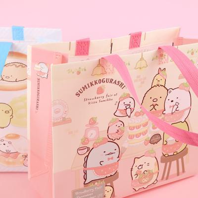 스밋코구라시 귀여운 미니부직포 쇼핑백 3탄 4개세트