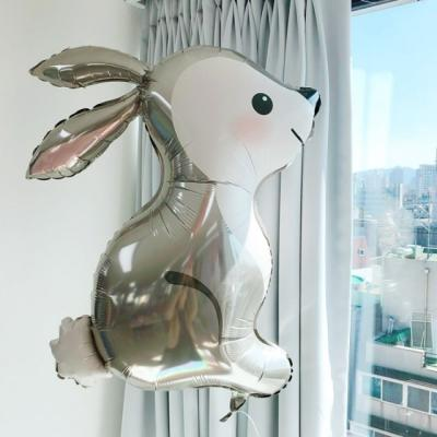 [GRABO] 은박 아기토끼풍선