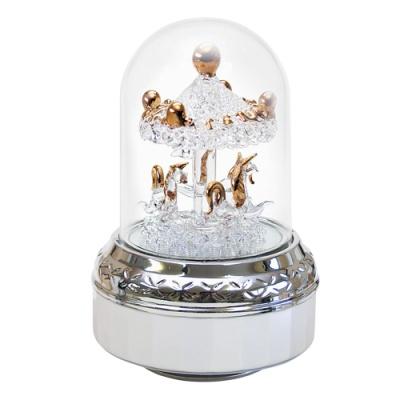 LED취침등오르골 - 골드회전목마 (오르골)