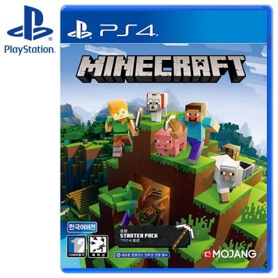 PS4 마인크래프트 스타터 콜렉션 (스타터팩)
