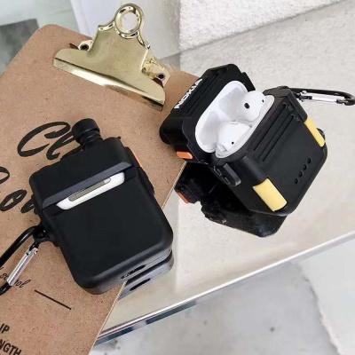 에어팟 케이스 1/2/PRO 미니 무전기 실리콘 고리 세트