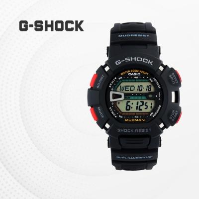 지샥 군인 군용 전자 패션 손목시계 G-9000-1V 머드맨