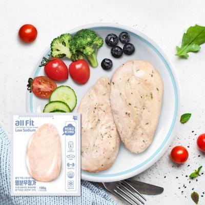 밀스원 염분무첨가 저염식 닭가슴살 30팩
