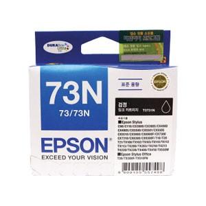 엡손(EPSON) 잉크 C13T105170 / NO.73N / 검정 / Stylus C90/C110/CX3900/CX3905/CX4900/CX4905,CX5500,CX5505 , Stylus Office T30,TX300F