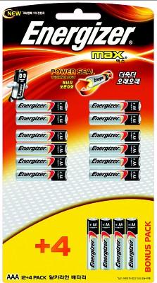 에너자이저 맥스AAA(12+4알)