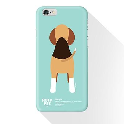 PLUSBOX HULA PET (Beagle Hula) / 아이폰6케이스/갤럭시6케이스/옵티머스케이스