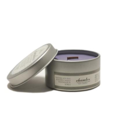 [샹떼] 라벤더 Lavender - 틴캔들 90g : 소이캔들 & 우드심지