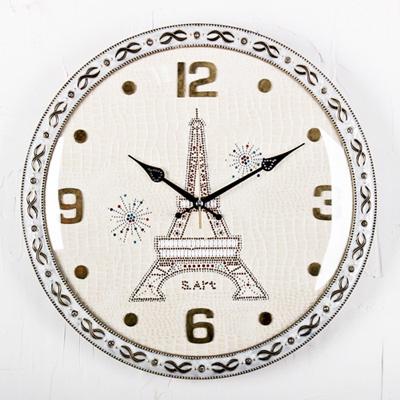 (ksp114) 저소음 400 에펠탑 벽시계