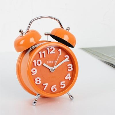 (ktsx084)칼라 3D 스틸저소음 벨탁상(오렌지)