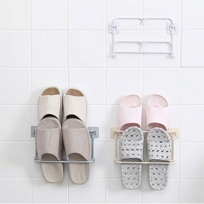 벽걸이 2단 욕실화 슬리퍼꽂이