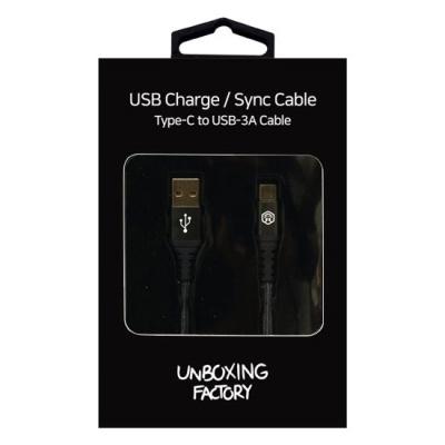 C타입 고속 충전 케이블 / 데이터 전송 UBX-2020C