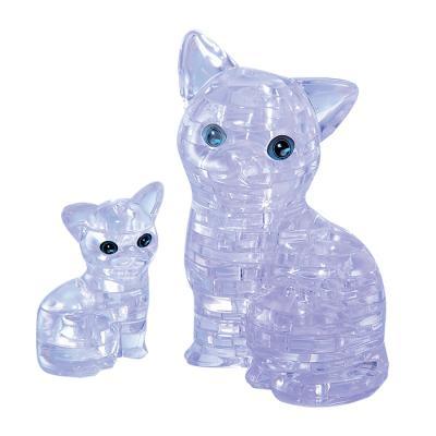 49피스 크리스탈퍼즐 - 흰 고양이