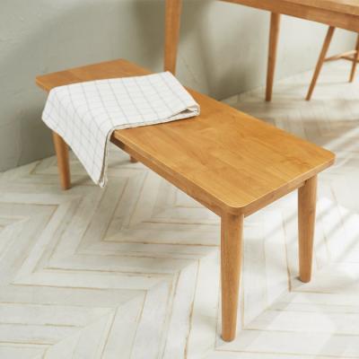 [노하우] 소이 고무나무원목 2인 벤치의자